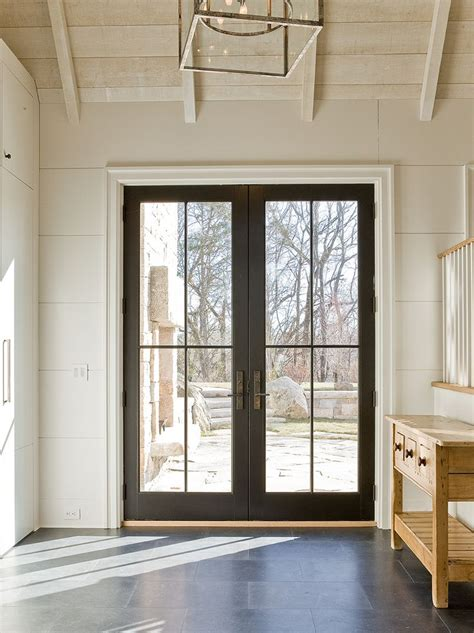 wood patio door custom built