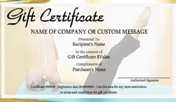 personal training gift certificate templates easy