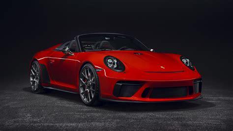 Model Preview: 2019 Porsche Speedster | Premier Financial ...