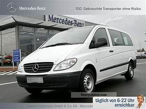 Mercedes Vito Combi 9 Places : mercedes benz vito 115 cdi combi long 9 seater parktronic r 2009 estate minibus up to 9 ~ Maxctalentgroup.com Avis de Voitures