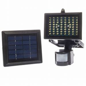 Led solar powered outdoor digital pir motion sensor