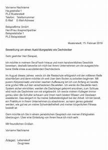 Bewerben Für Oder Um : muster bewerbung als dachdecker ~ Watch28wear.com Haus und Dekorationen
