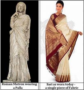 Probable influence of Roman Empire on the Indian Sari
