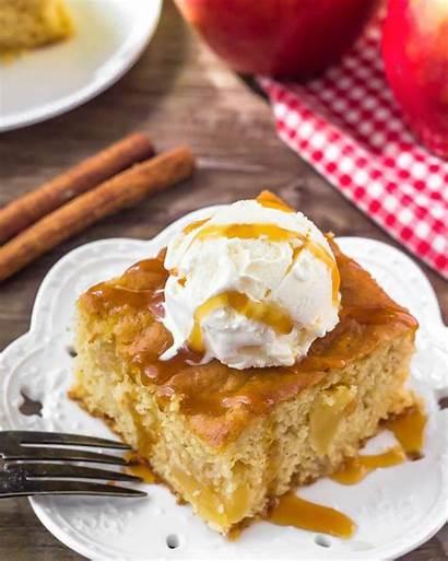 Apple Cake Easy Caramel Recipe Apples Cinnamon