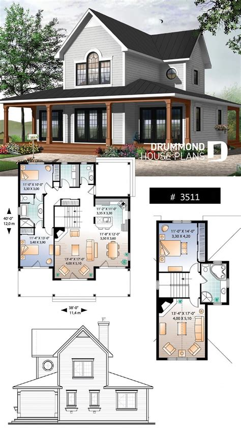 house plan Edgewater No 3511 Sims house plans Family