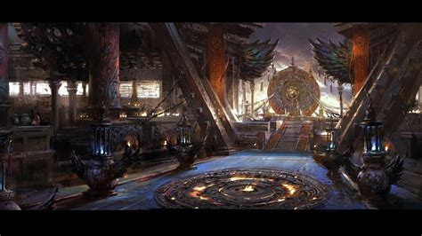 fantasy art artwork palace wallpaper