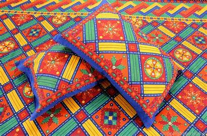 Kantha Embroidery Bed Sheet Double