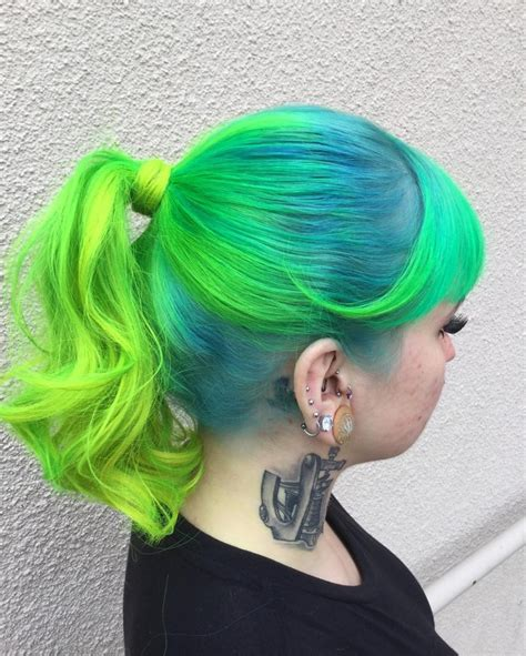 Turquoise Hair 237 Free Hair Color Pictures