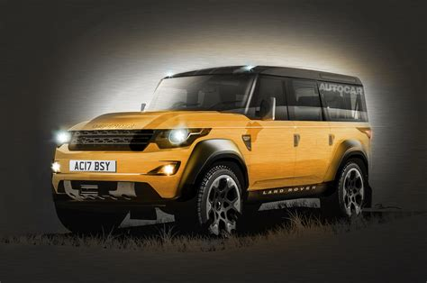 new land rover defender interior new cars news autocar