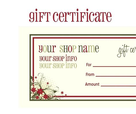 Voucher Template Template Editable Voucher Template