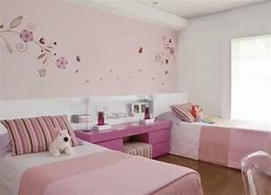 Wandfarbe Für Kinderzimmer : 30 wohnideen f r altrosa wandfarbe verschiedne farbt ne ~ Lizthompson.info Haus und Dekorationen