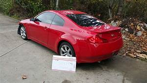 Fs  2007 Red G35 Coupe Part Out  Entire Car   84k Miles