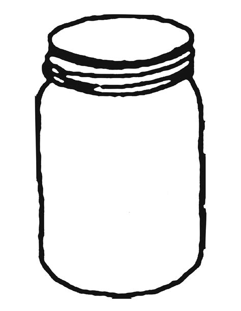 jar template jar clip 4 jar clipart clipartcow clipartix