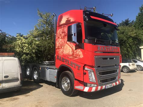 new volvo fh new volvo fh 540 joins the fleet bartlett contractors
