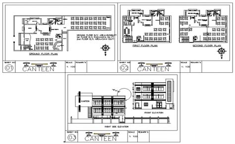 in apartment plans canteen plan