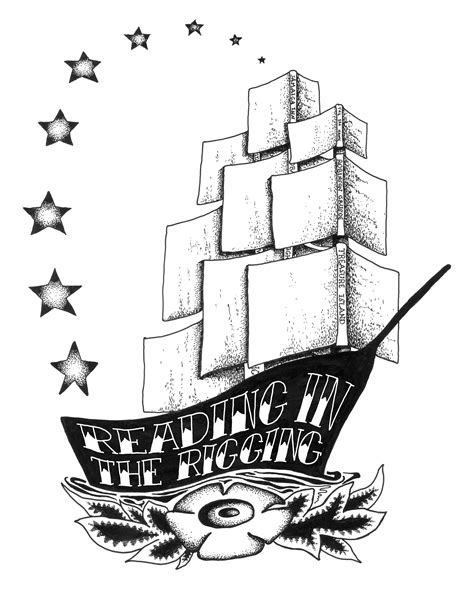 Pirate Librarian Tattoo | Reading In the Rigging | Library Signs | Librarian tattoo, Book tattoo