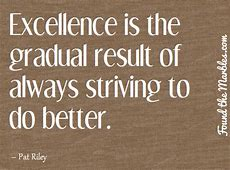 EXCELLENCE QUOTES image quotes at hippoquotescom