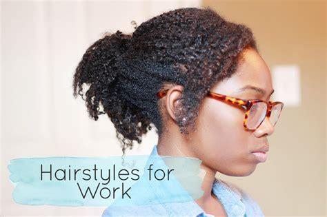 hair work styles 4 easy hairstyles for work ft hergivenhair 4043