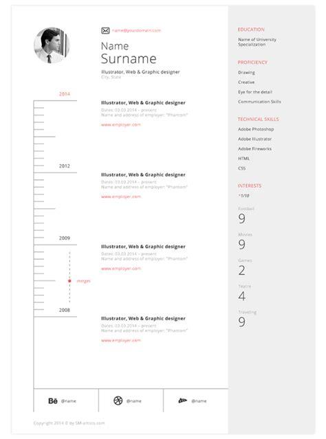best resume template 2014 free 25 best free professional cv resume templates 2014