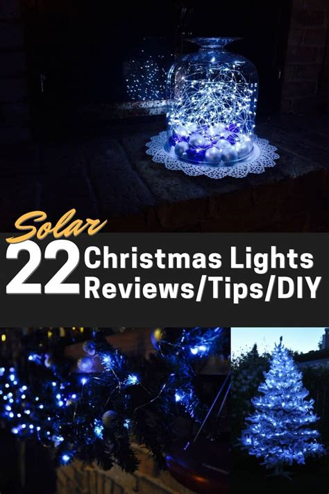 Solar Powered Christmas Lights (led)  22 Best Reviewed