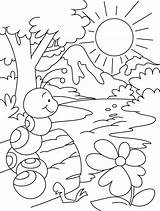 Ant Coloring Hill Pages Colouring Anthill Template Bullet Getdrawings sketch template