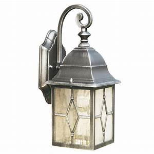 genoa antique black silver garden wall lantern ip44 rated With outdoor lighting colored lanterns