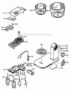 Sunbeam 2381 Parts List And Diagram   Ereplacementparts Com