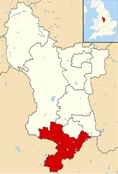 Derbyshire South Map Wikipedia Svg Locator Wikimedia