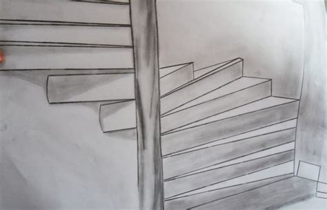 trompe l oeil escalier trompe l oeil escalier de artistepeintre03