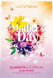 Mother U0026 39 S Day Flyer Template By Stylewish  Celebrate Mother