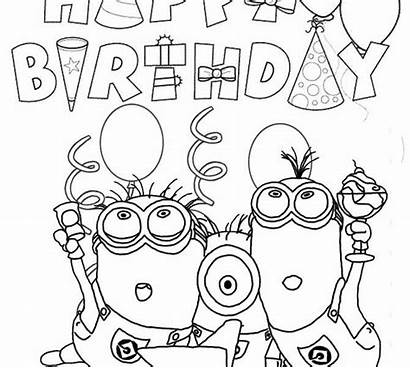 Coloring Birthday Pages Happy Wars Star Printable