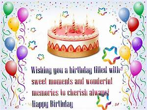 Happy Birthday Wishes Quotes Wallpaper HD Wallpaper of ...