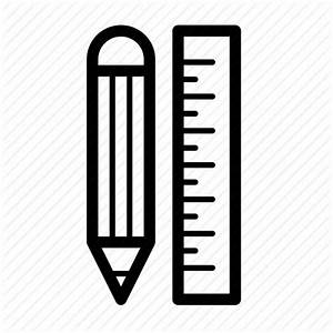 Document, graphic, pencil, ruler, sketch icon | Icon ...
