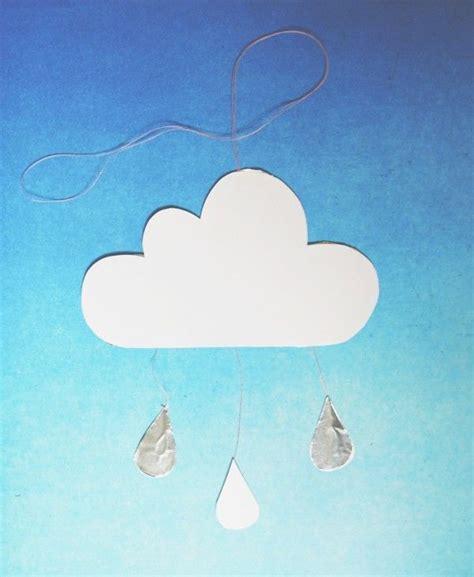 Wolke, Mobile, Baby, Selbermachen, Diy, Basteln, Weiß
