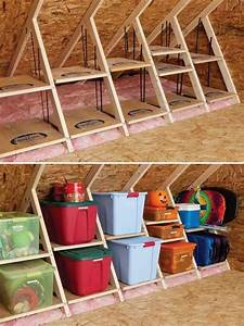 Creative Attic Storage Ideas and Solutions - Hative