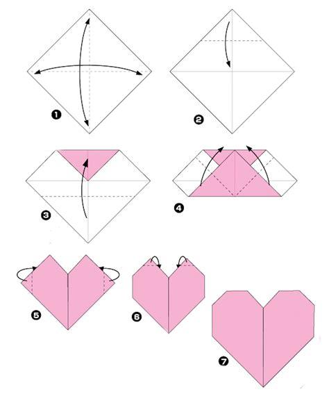 origami heart  true story layout lady pattern