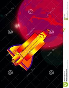 Space Shuttle In Action Royalty Free Stock Images - Image ...