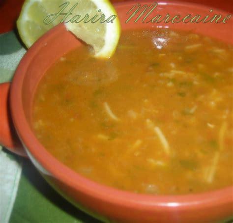 cuisine marocaine harira la soupe marocaine harira marocaine le cuisine de