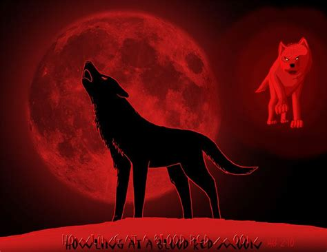 Alpha Wolf Blood Moon Wolf Wallpaper by Wolves Howling To The Moon Howling At A Blood Moon