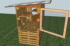 Construire Un Poulailler En Palette Plan Bande