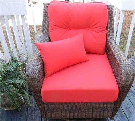patio cushions on seat patio chair cushions home furniture design