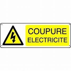 Panneau Coupure Electricité Stocksignes