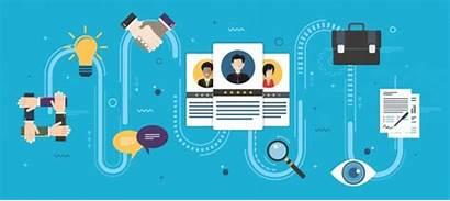 Recruitment Onboarding Employees Animation Job Process Peo