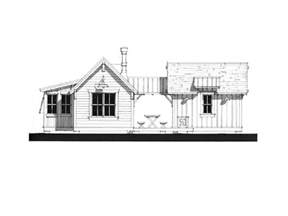 weekend cottage pearl cottages traditionally styled green built pre fab rooms guest