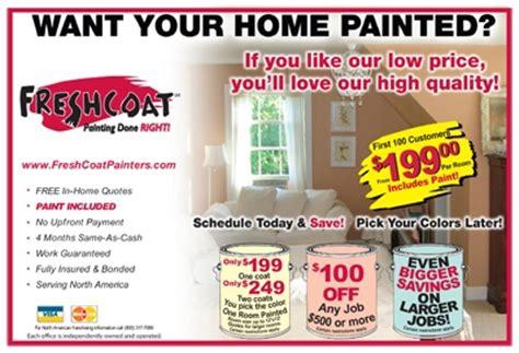 Painting Specials  Marietta Painter  Fresh Coat