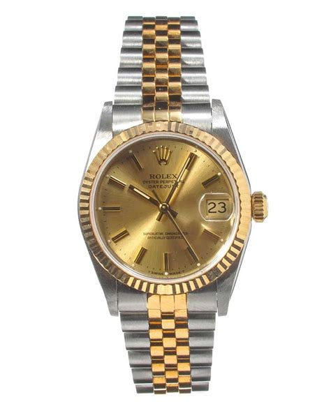 ROLEX GENT'S OYSTER PERPETUAL DATEJUST WRIST WATCH