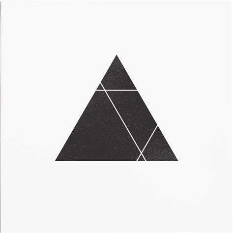 geometric triangle design illustration black and white design inspiration black tattoo triangle print blackandwhite modern