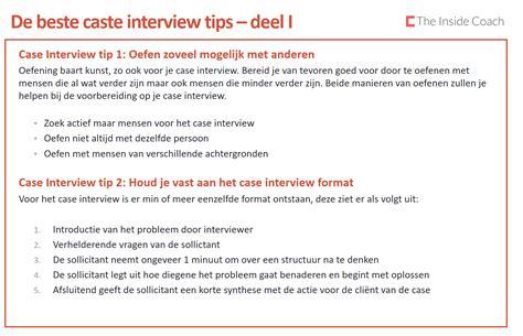 interview case case interview tips een selectie van de 10 beste the