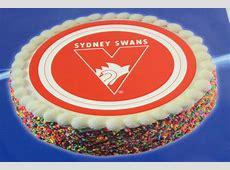 Sydney Swans AFL Team Logo Edible Cake Image Topper eBay