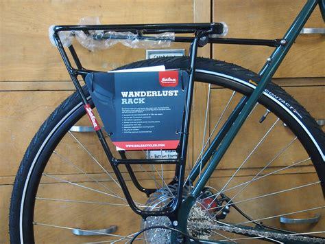 bike rear rack salsa wanderlust rear bicycle rack